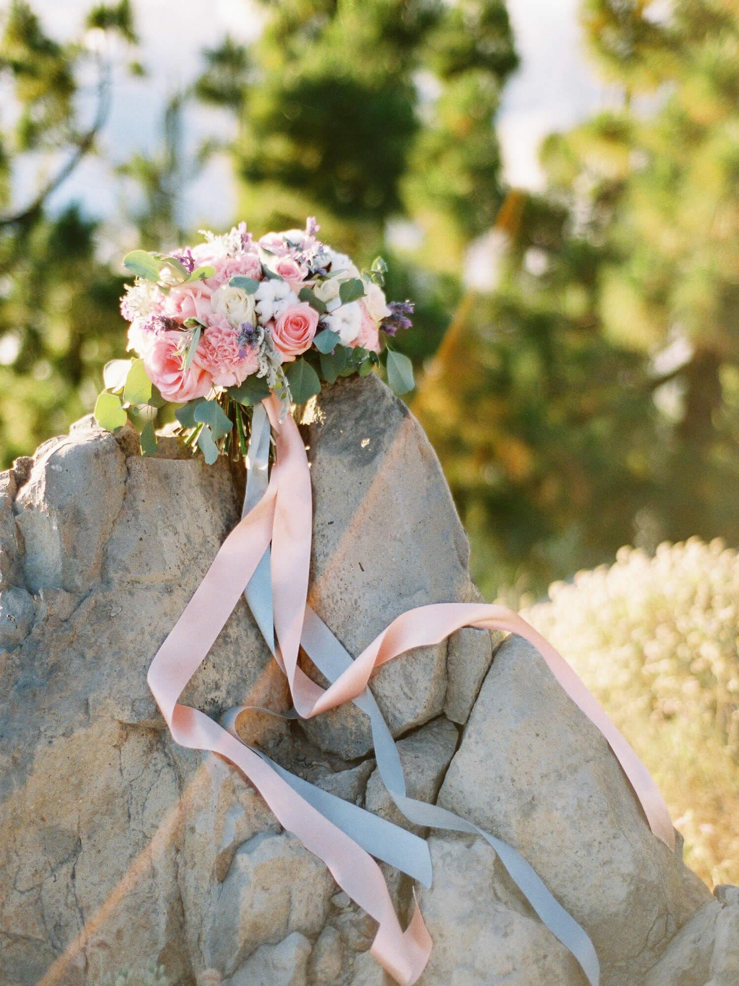 wedding bouquet in Tenerife