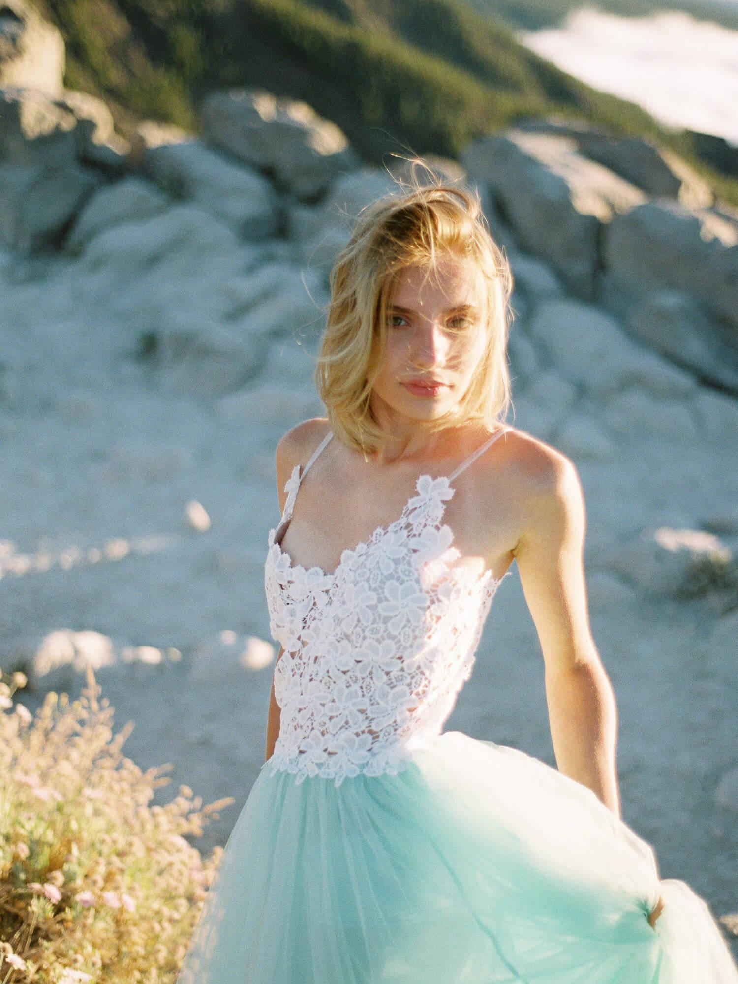 bridal portrait film photographer Tenerife