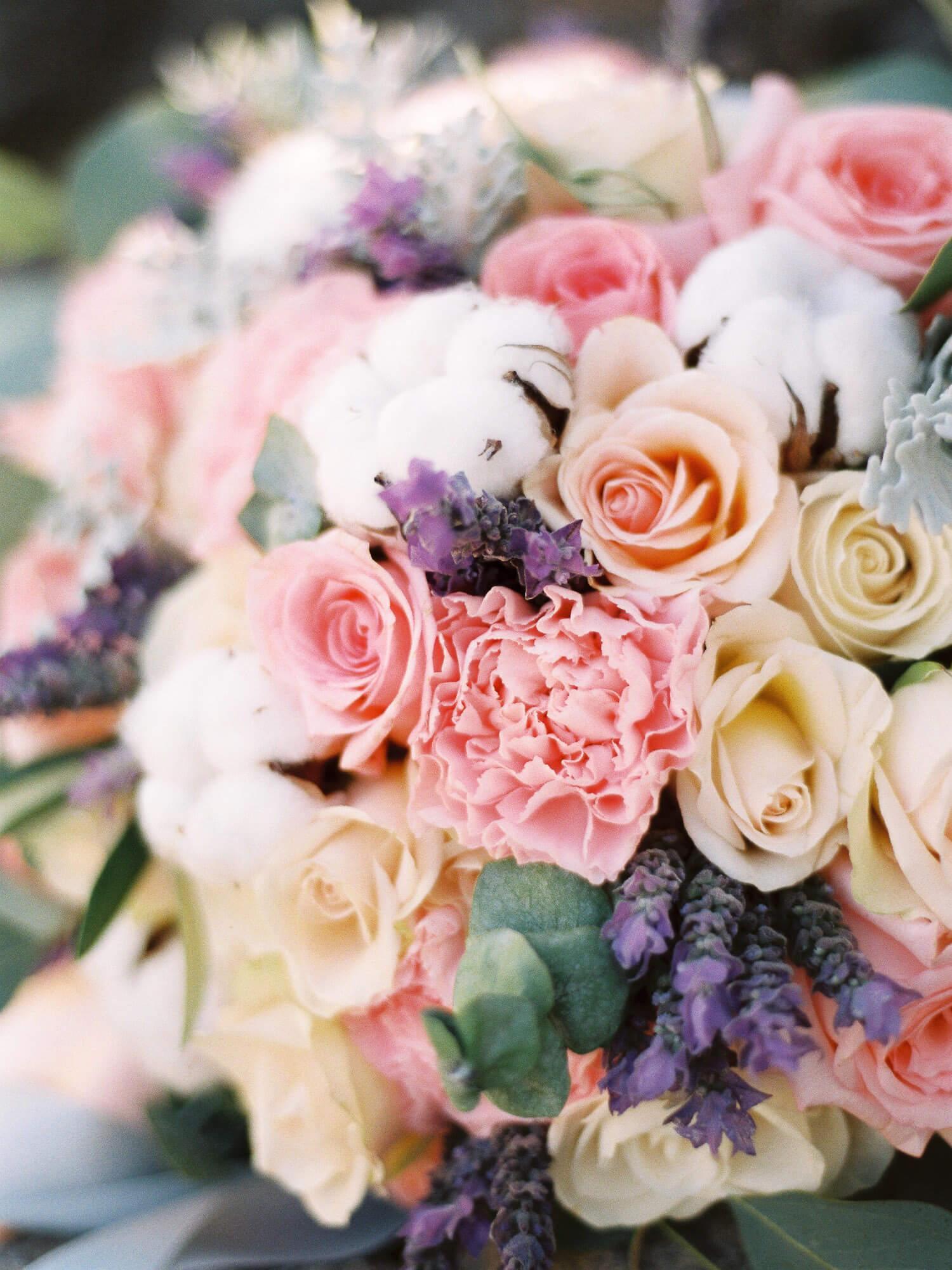fine art film photography wedding bouquet