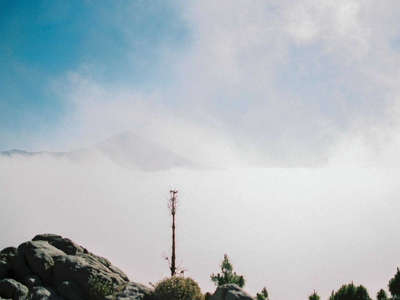 view on volcano Teide