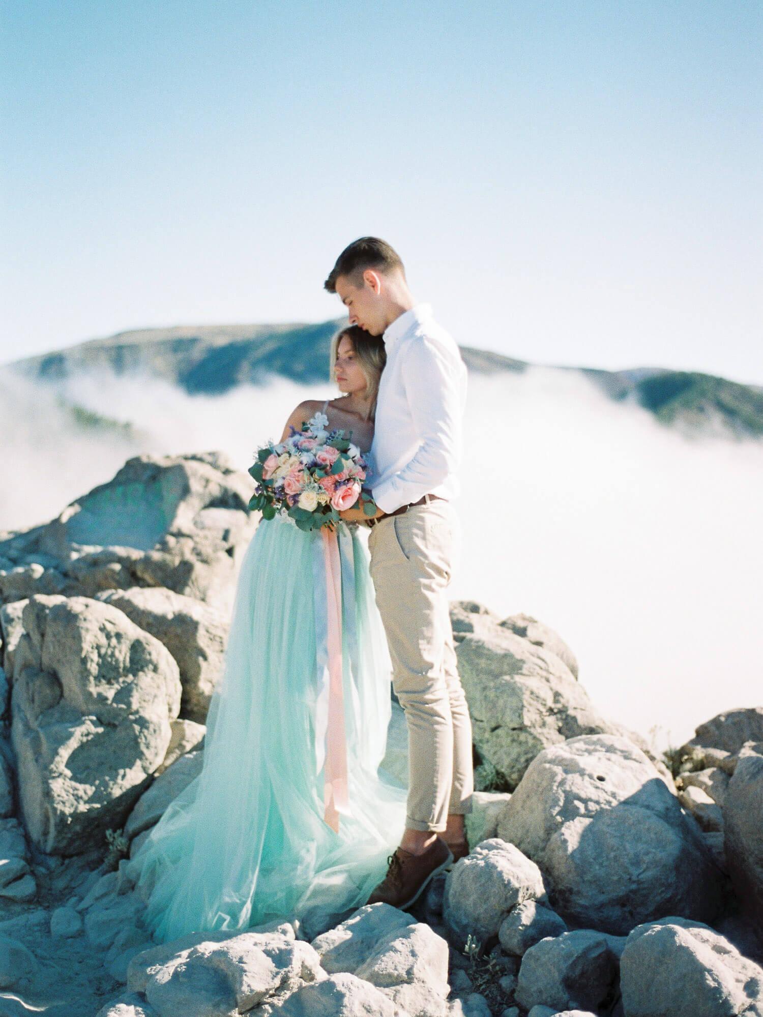wedding photoshoot in Tenerife, volcano Teide
