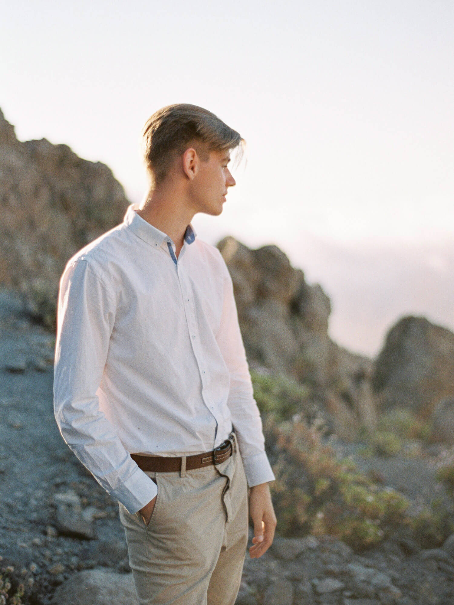 groom portrait Tenerife