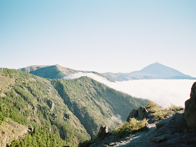 volcano Teide fuji400h