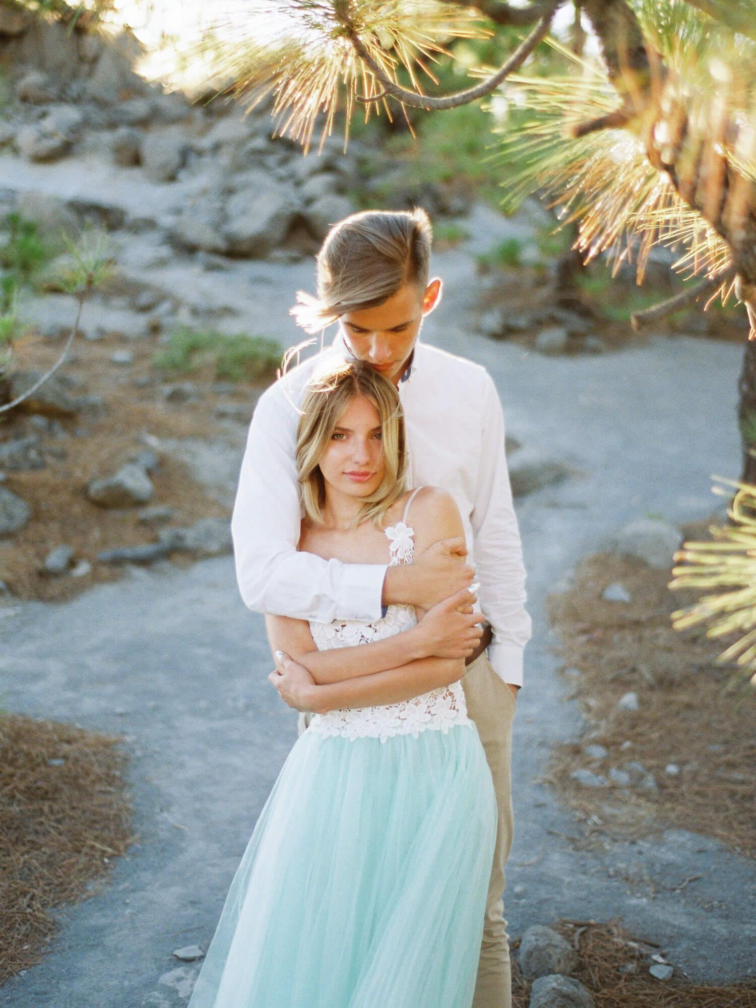 couple photoshoot in Tenerife, volcano Teide