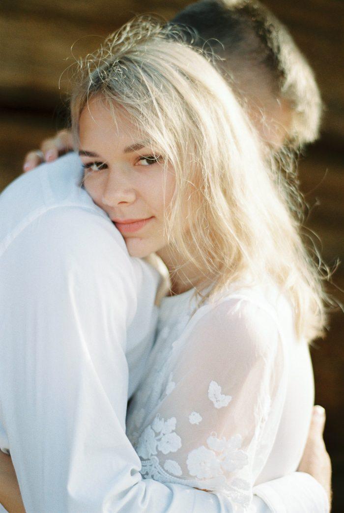 intimate film wedding photography