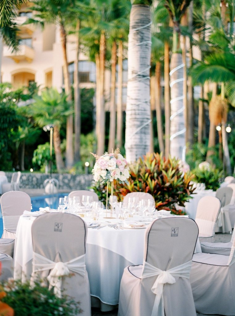 table decoration wedding in Tenerife