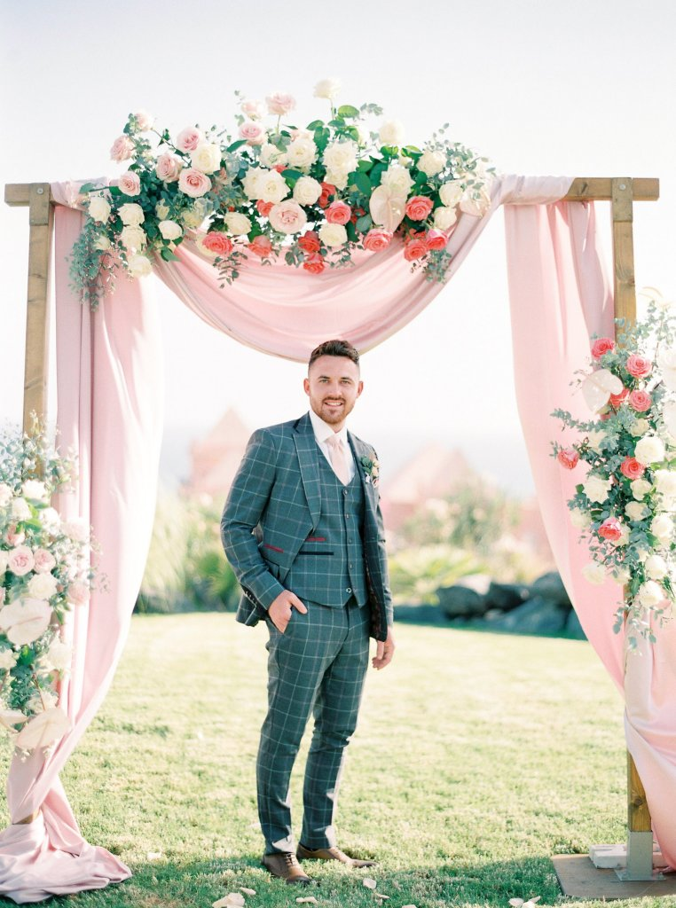 groom on a wedding day
