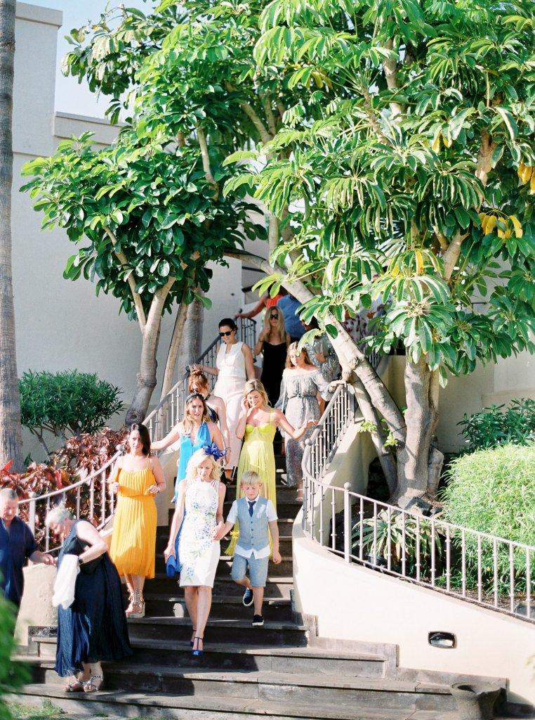 wedding reception in Tenerife