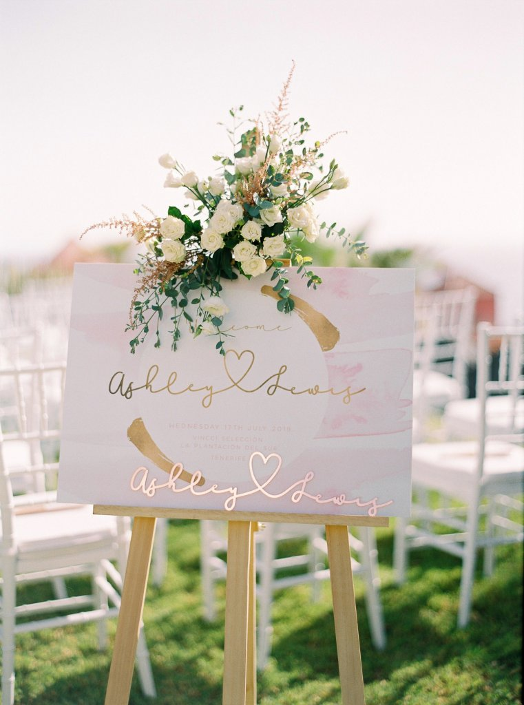 wedding details Tenerife