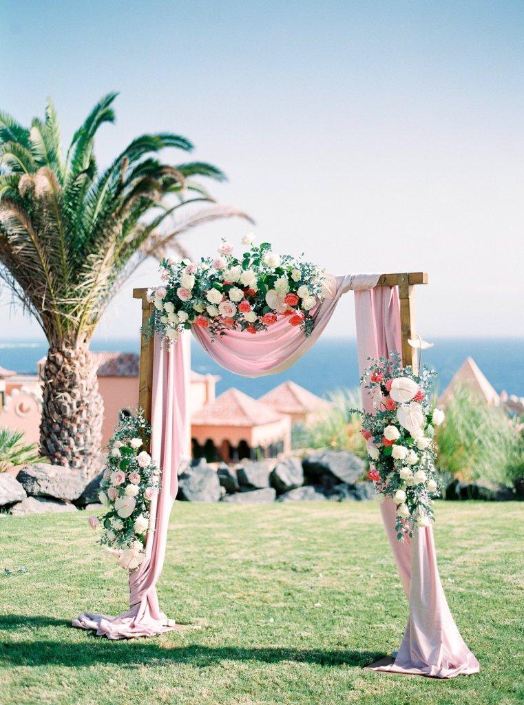wedding arch Tenerife