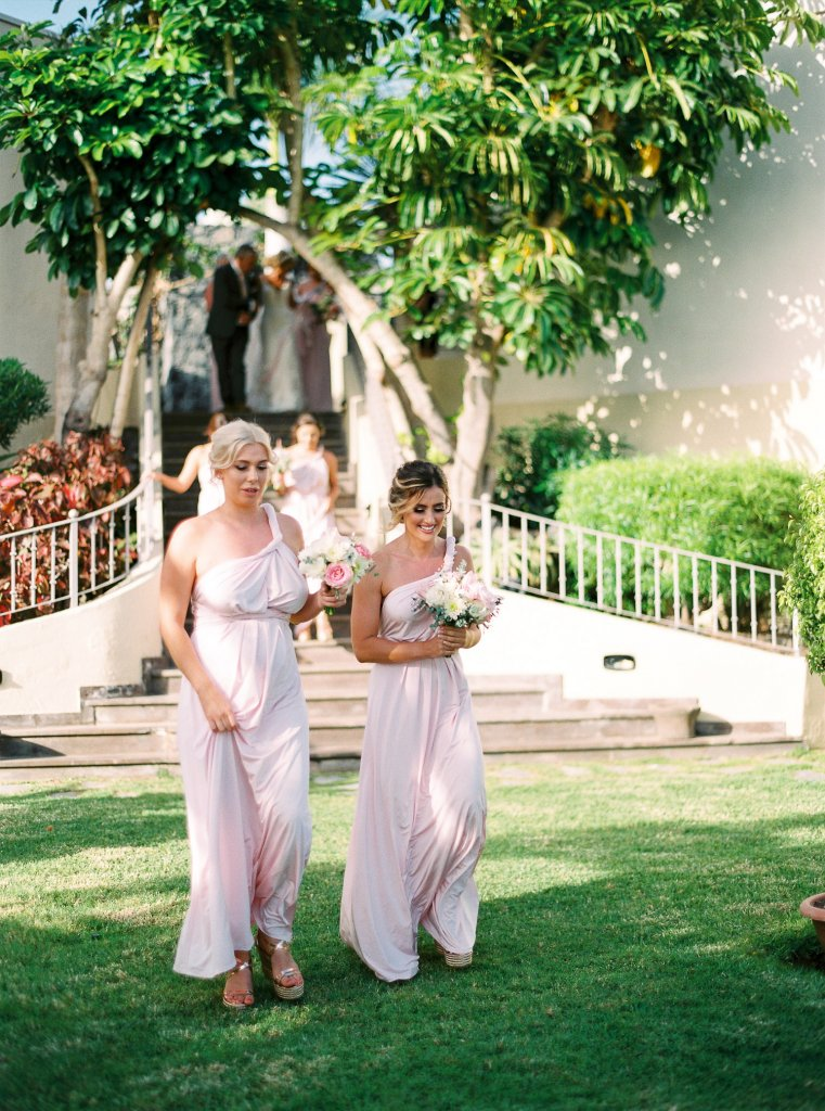 bridesmaids in Canary islands