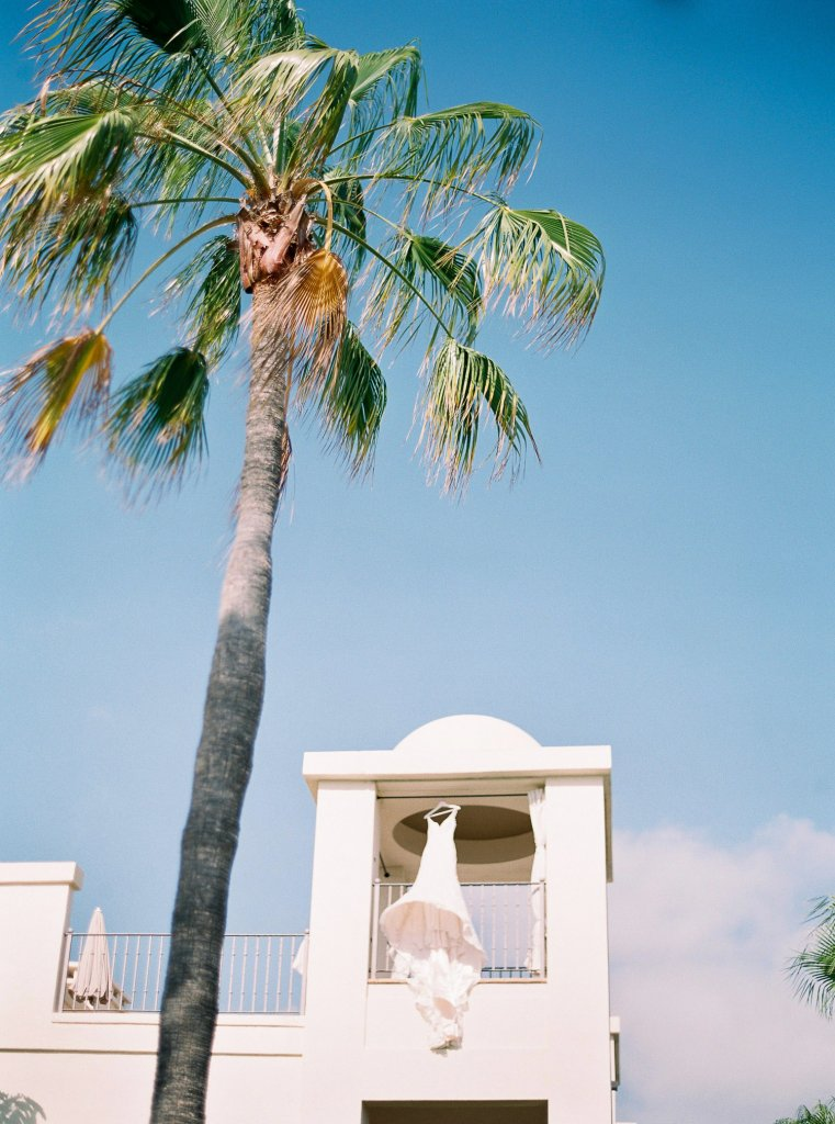 wedding dress in Tenerife