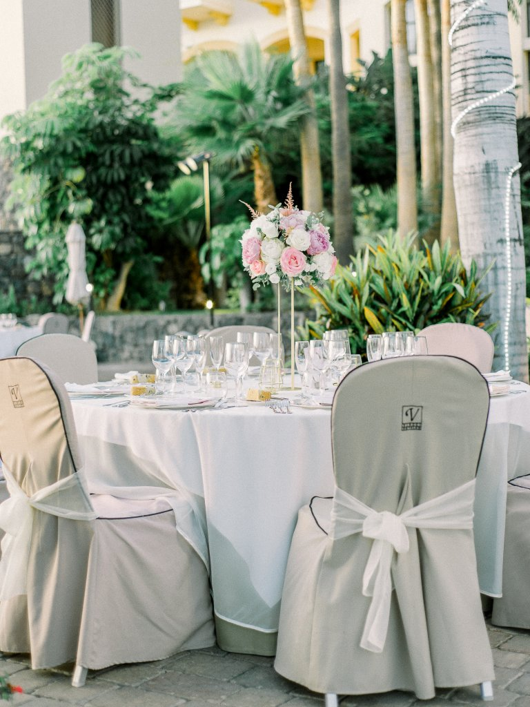 wedding decoration in Tenerife