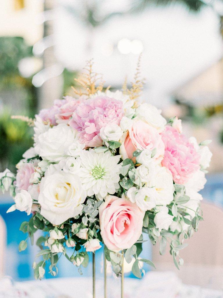 flower wedding decor in Tenerife