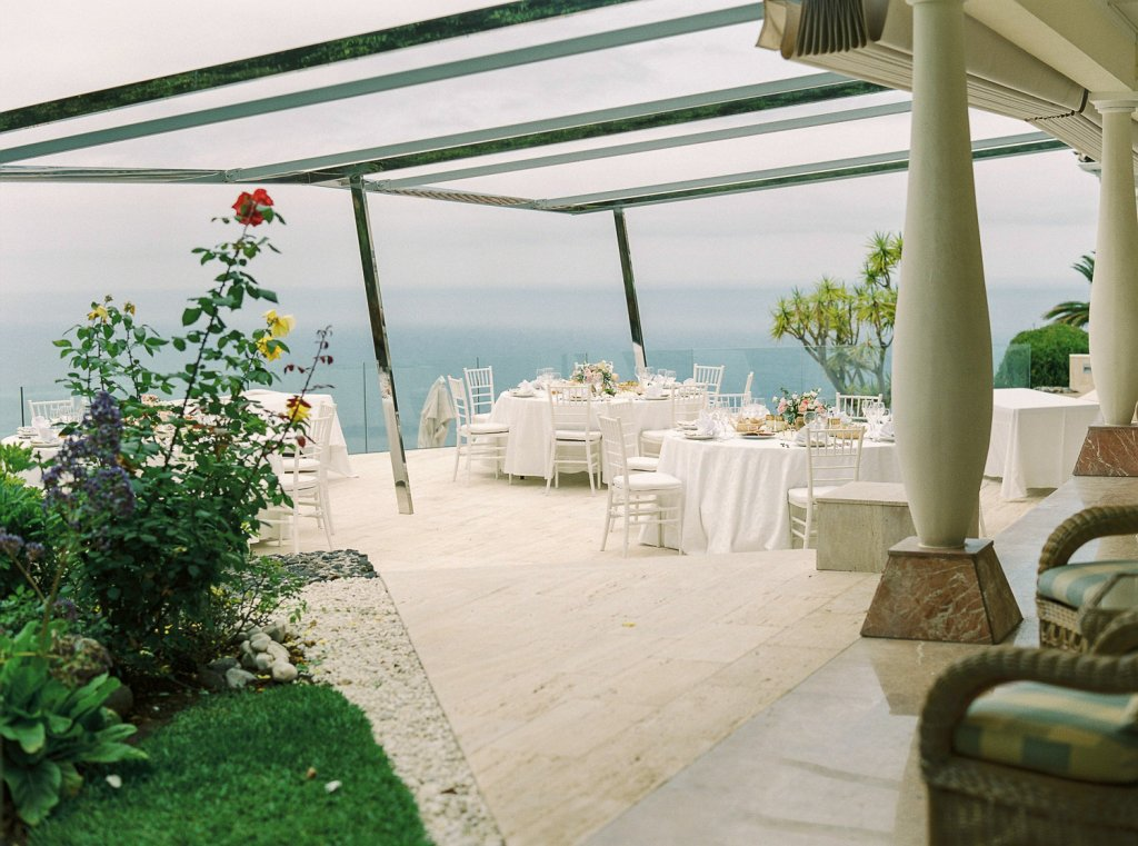 wedding in Tenerife with the view