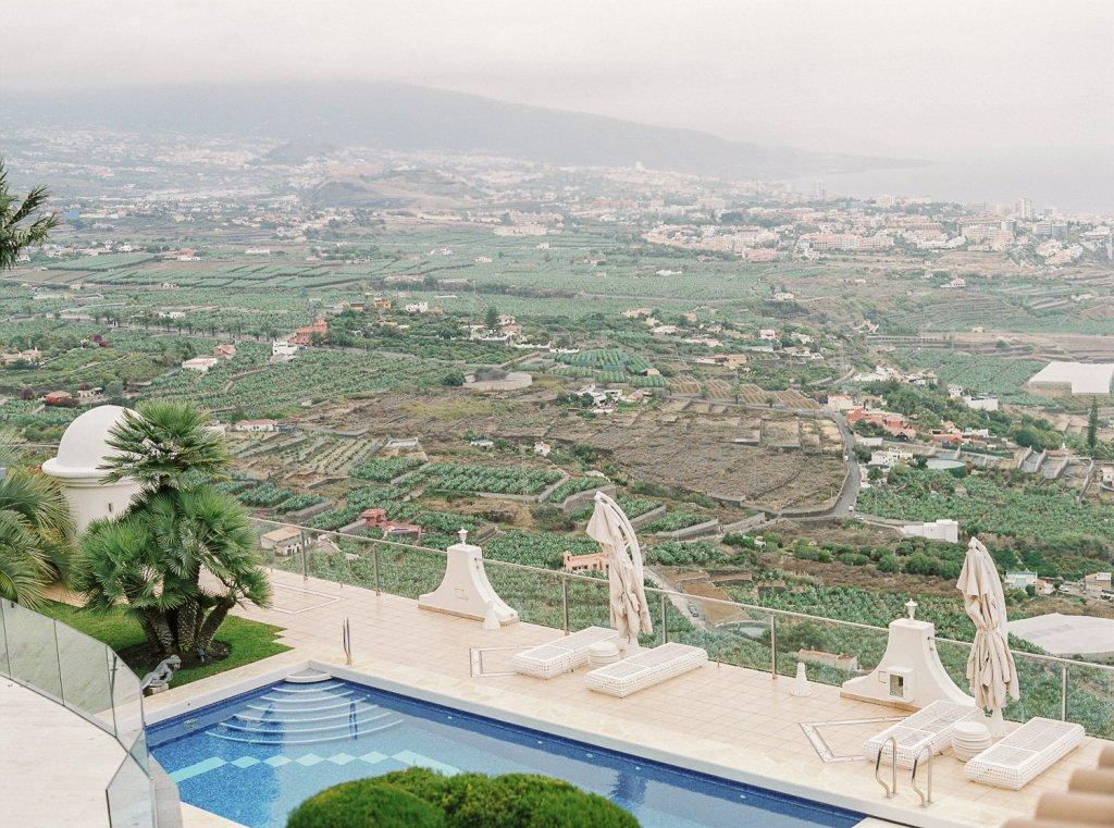 private villa wedding in Tenerife
