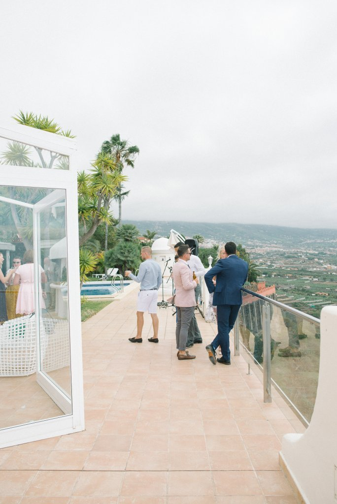 guests on a wedding day