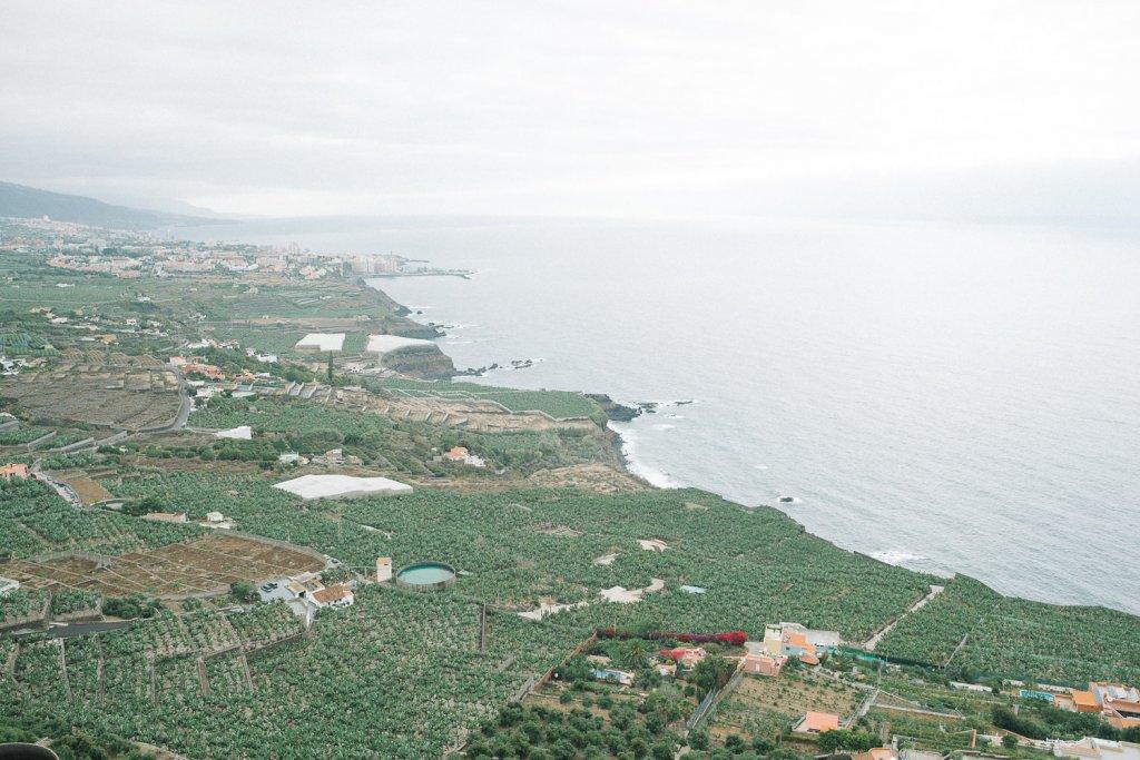 North Tenerife private villa view