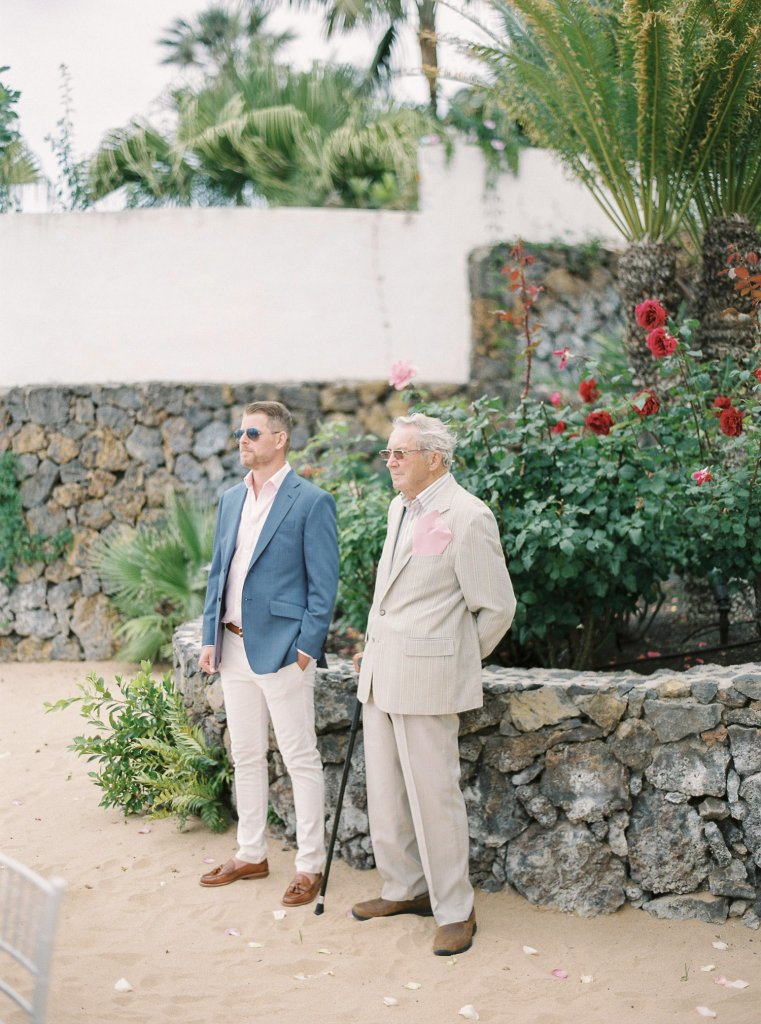 guests on a wedding in Tenerife
