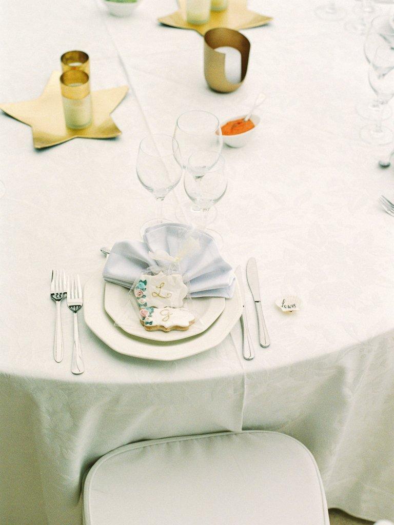 wedding table setting Tenerife